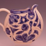 Disk Pitcher in Blue