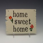 """home sweet home"" Wall-Hanging"