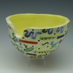 Hand-Painted Portal Bowl 3