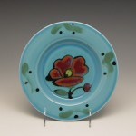 Flowered Side Plate