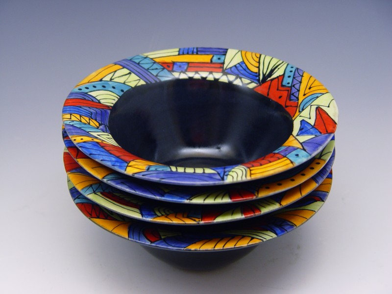 Hand-Painted Bowls